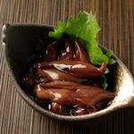 日本酒バル 方舟プラチナ  - 蛍烏賊の沖漬け