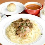 カンティーナ - 軟骨ソーキのペペロンチーノ(セット¥750)
