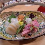 Sakanayamakino - お刺身盛り合わせ