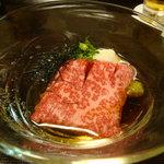 京洛肉料理 いっしん - 肉ソーメン