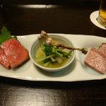 京洛肉料理 いっしん - 三種盛り