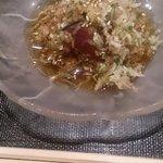 銀座 鮨一 - カツオのネギまみれ梅