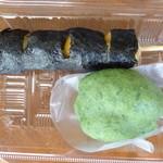 37601757 - 上:いそべ、下:草餅