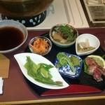 しゃぶきん 肉の金澤屋 - 先付け 山菜のパラダイス最高