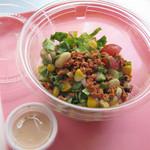 ラーメン バーガー - 「N.Y.スタイル  チョップドサラダ」  そう、少し前に >次にくるサラダはこれだ! …と、クックパッドでも話題になっていたサラダです!