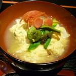 高麗橋桜花 - お野菜の卵とじ