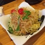 創作焼鳥 大煙 - ラーメンサラダ  麺がしまっていておいしい。 (*´ڡ`●)