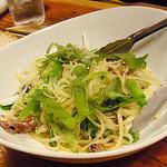 ライノスキッチン - 蛍イカと菜の花のペペロンチーノ