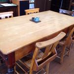 カフェ タブノキ - アンティーク家具