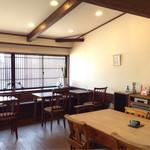 カフェ タブノキ - 店内