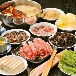 火鍋の食べ放題は2580円(税込)~
