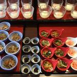 ゆふいん山水館 - 朝食ブッフェの一部