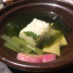 ゆふいん山水館 - 白魚真丈若竹鍋