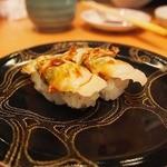 京寿司 - はまぐりにぎり 360円