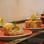 京寿司 - 回ってるお寿司は少なし・・ほとんどオーダー
