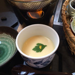 吾妻 - ランチの茶碗蒸し