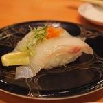 京寿司 - ひらめ 360円