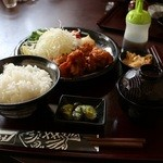 いっちょまえ - 鶏唐揚げ定食