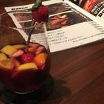 La Brasserie Laugh - サングリアはフルーツたっぷり★