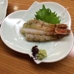 葵寿し - ガス海老刺身