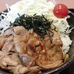 甘楽パーキングエリア(下り線)スナックコーナー - ばかうま丼アップ