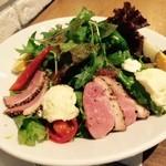 マザーリーフ ティー スタイル - この鴨肉のサラダ、おいしかった!