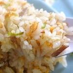 珍来軒 - 黄身の色の濃い卵