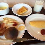 37619343 - 朝食バイキング(2015,5) 洋食盛り付け例