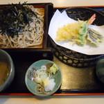 大師茶屋 - 天ざる(大盛り)