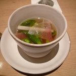 鉄板焼き あおやま - 本日のスープ