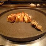 鉄板焼き あおやま - 焼き筍