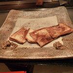 鉄板焼き あおやま - パン