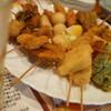 ビア ハウスマッシー - 料理写真:串揚げ全部!