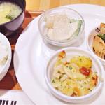meal MUJI - 選べるデリ3品&ご飯&お味噌汁