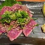 カンス - 和牛炙り刺し