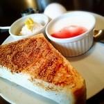 如水舎 - 料理写真:シナモントースト