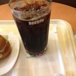 ドトールコーヒーショップ - アイスコーヒー。