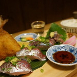 一膳飯屋 八起 - 土日祝のみ 小田原 鰺定食1,300円