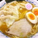 37623484 - ワンタン麺 \940 + 味玉 \100 2015.4