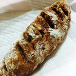 パンやきどころ RIKI - マロングラッセとクルミ ¥220+税