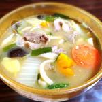 民芸茶屋 清水 - 料理写真:いのぶたほうとう