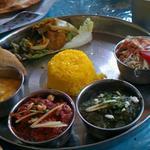 ほんとのインド料理とカレーの店 - ベジタブルセット