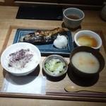 小割烹おはし - 焼きもん御膳-鯖(1,000円)