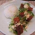レストラン アオイ - 魚のフライサラダ仕立て