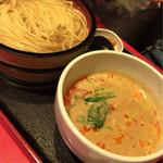 浅草製麺所 - 坦々つけ麺(釜揚げ)
