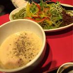 浅草製麺所 - カルボつけ麺
