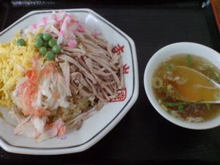 東峯園 - 201505五目チャーハン¥700