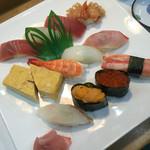 紀八寿司 - おまかせにぎり 2980円