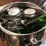 37628622 - お酒は持込。冷酒と缶ビールで最高!@2015/5/4