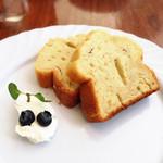 Les deux Bleue - ベリーのパウンドケーキ(わんこ用)
